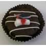Chocolate Covered Oreo Cookie - Graduation Cap &amp; Scroll
